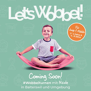 Wobbelturnen KIDS - Coming Soon - Square