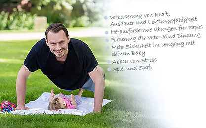 fitdankbaby® Papa - Fitness mit Papa