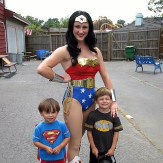 Wonder Woman - Six Flags America 2012-2013