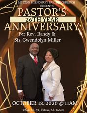 26th Pastoral Anniversary