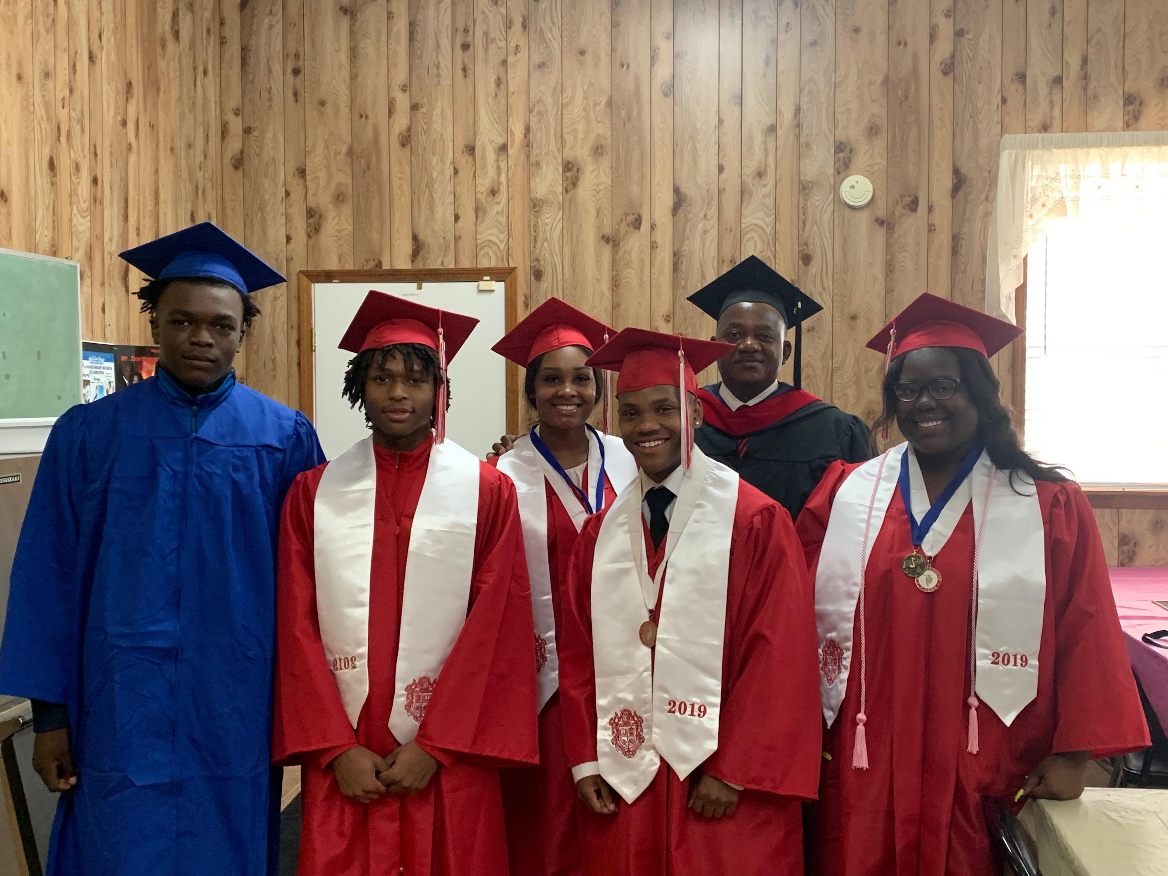 Mt. Zion MBC 2019 Graduates