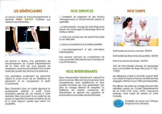 PRIMA SERVICES
