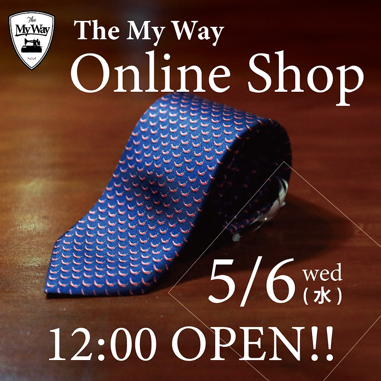 TheMyWay ONLINE SHOP OPEN!