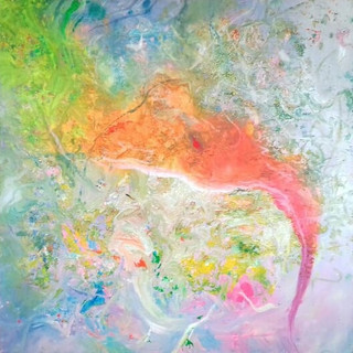 "The Secret Painting Series: ""Holy Smoke"""