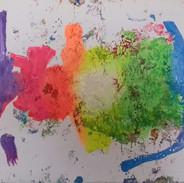"Secret Painting Series: ""A Beautiful Idea"""