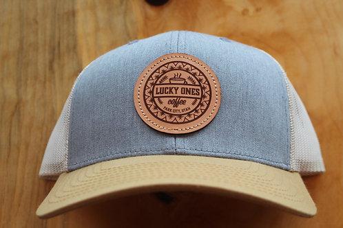 Heather/Gold Snapback Hat