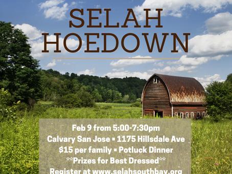 SELAH Hoedown