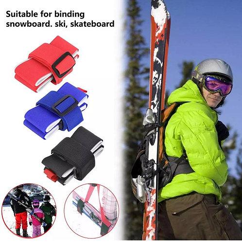 """Skiträger """"Praktikus"""" Schulter Tragegurt für Skier"""