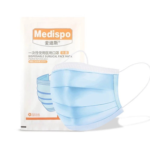 MEDISPO Sterile Masken einzeln verpackt (1 Stk.)