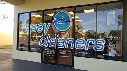 Easy Cleaners storefront