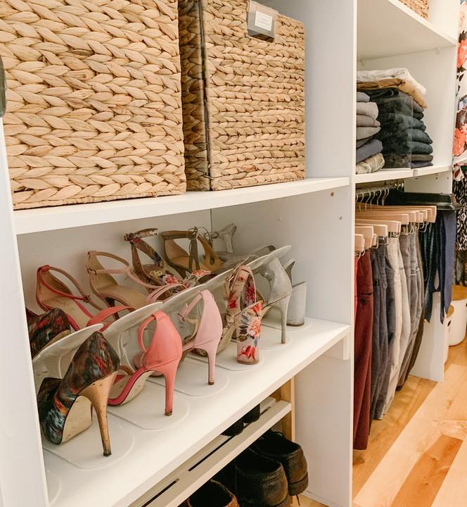 Comment maximiser l'espace de rangement de vos chaussures ?