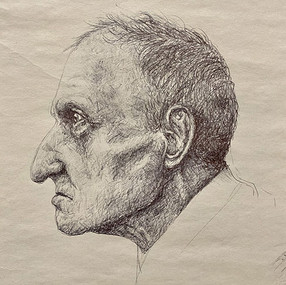 """Emily Ewing, """"Study of an Old Man"""""""