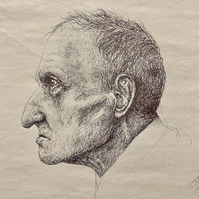 "Emily Ewing, ""Study of an Old Man"""