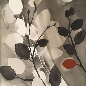 """Owen Benson, """"One Red Leaf"""""""