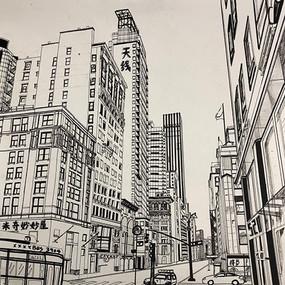 "Xinyu Chang, ""My West 34th Street"""