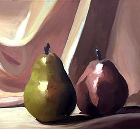 "Maria Sewall, ""Pears"""