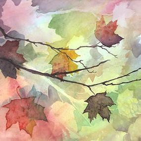 """Tomas Parra Gomez, """"Maple Leaves"""""""