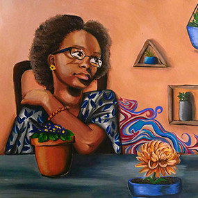 "Nana Ewusie, ""Blooming Decor"""