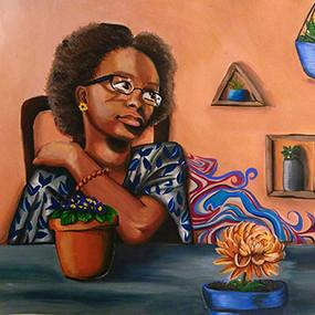 "Nana Ewusie, ""Blooming Decor"""