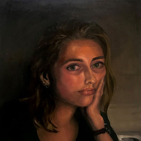 "Lillian Broeksmit, ""Contemplation"""