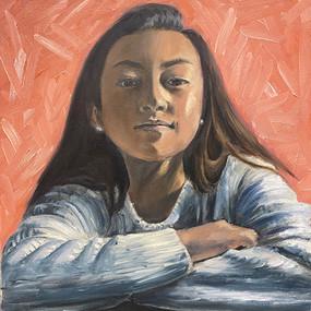 """Irene Qi, """"Pondering"""""""