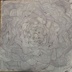 "Ella Akakpo Montcho, ""Blooming Lines"""