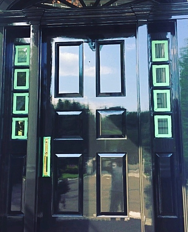 High Gloss Front Door