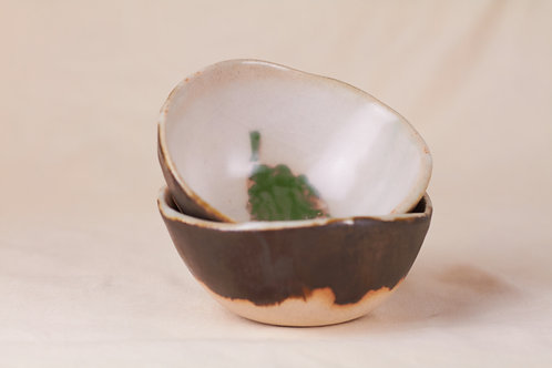 Green Brush Bowls