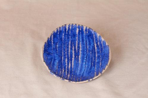 Blue Stripe Plate
