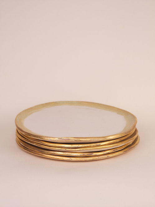 Gold Lustre Plates