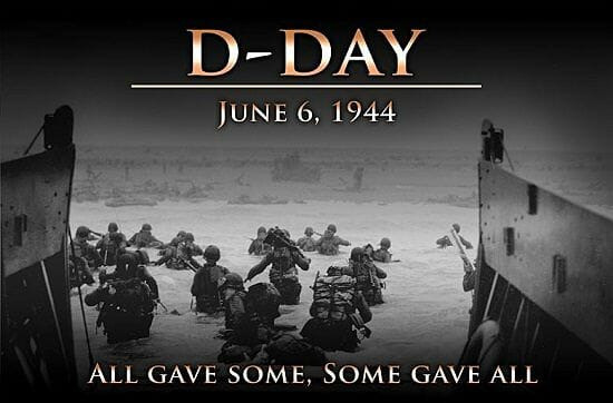 The First Sunday After Trinity and the 77th Anniversary of D-Day