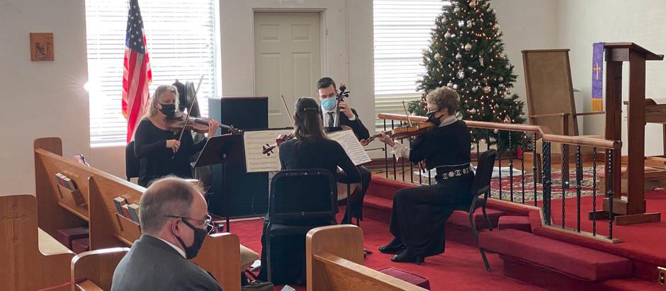 Beautiful Festival of Nine Lessons & Carols Service!