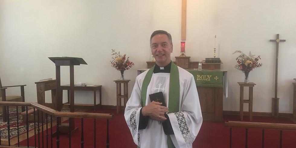 11 am Palm Sunday Holy Communion with Father Scott