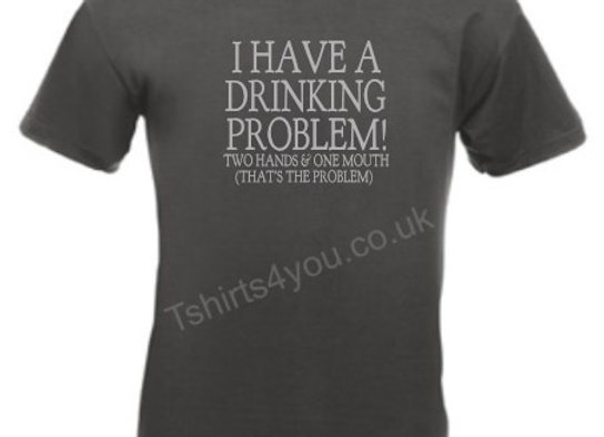 I have a drinking problem