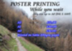 T shirt printing Bristol :Poster prints in Bristol