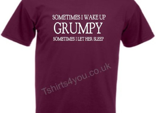 Sometimes i wake up grumpy