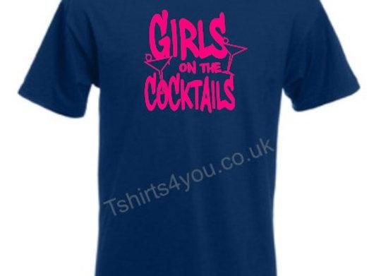 Girls on cocktails