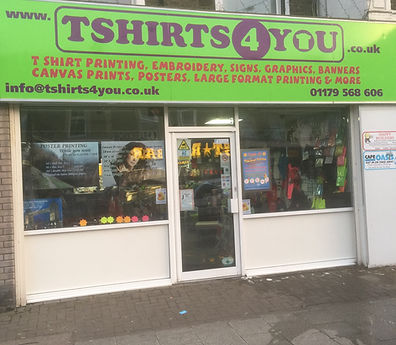 Our High Street Shop Front