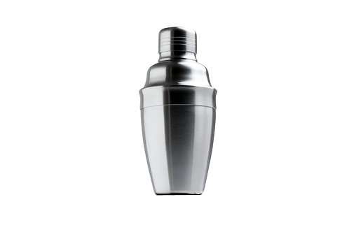 3-PIECE BRUSHED COCKTAIL SHAKER