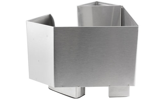 TRIANGLE STAINLESS STEEL NAPKIN HOLDER