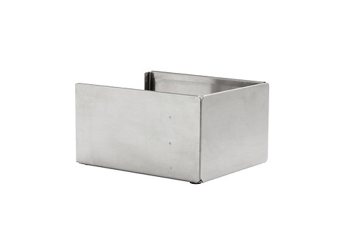 SQUARE STAINLESS STEEL NAPKIN HOLDER