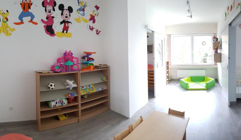 Salle d'éveil des petits