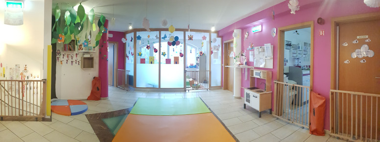 Salle de jeux des bébés et des petits