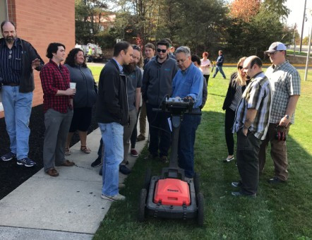 Ground Penetrating Radar Demonstrations