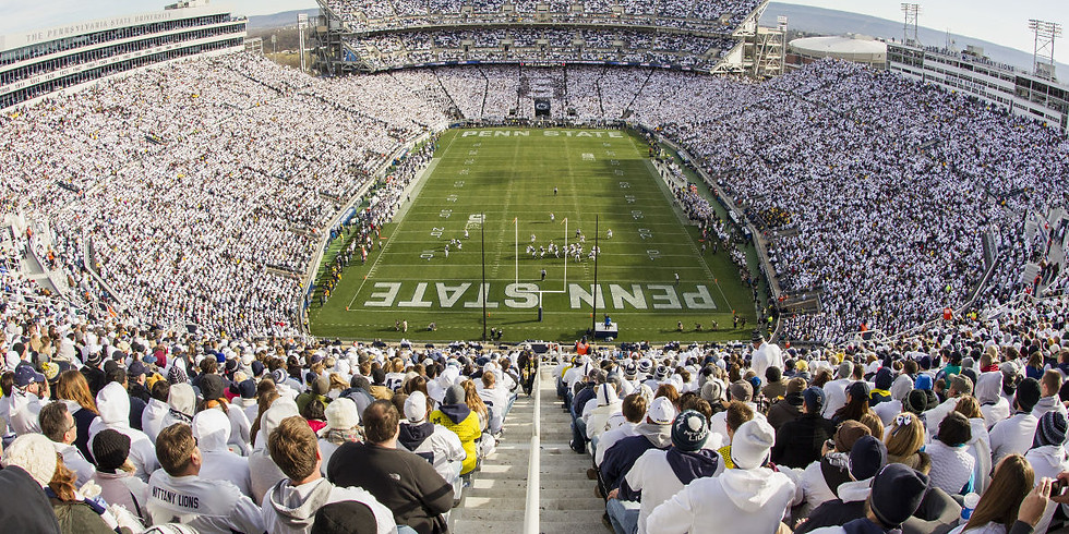 Penn State, Blue and White Tailgate