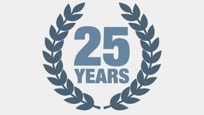 We celebrate 25 years