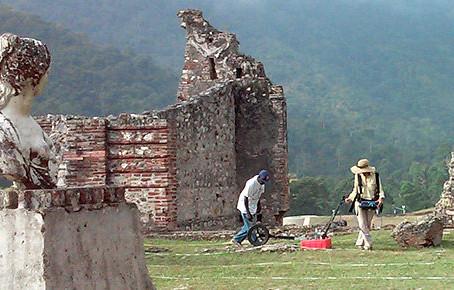 Using Ground-Penetrating Radar on Archaeological Sites