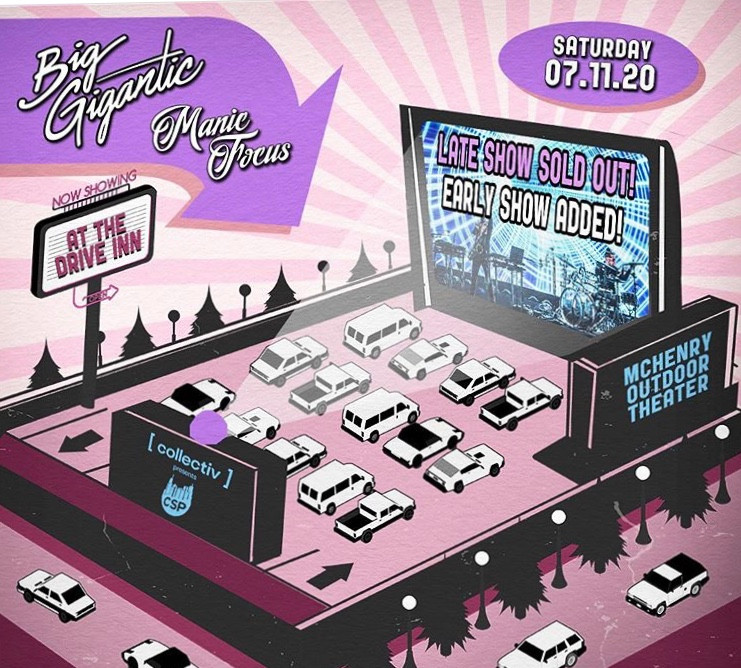 Collectiv Presents Drive In with Big Gigantic and Manic Focus