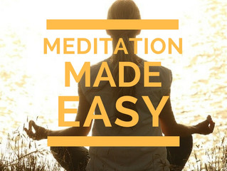 A Great Solution For Great Meditative Experiences