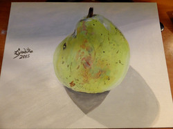 happy_pear___acrylic_painting__by_madamred555-d9m0hs4